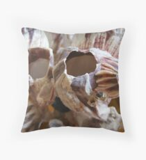 shelled Throw Pillow