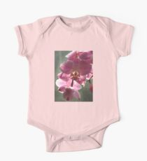 Pink Orchid One Piece - Short Sleeve