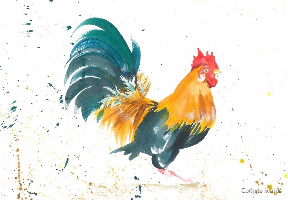Cockerel by Corinne Matus