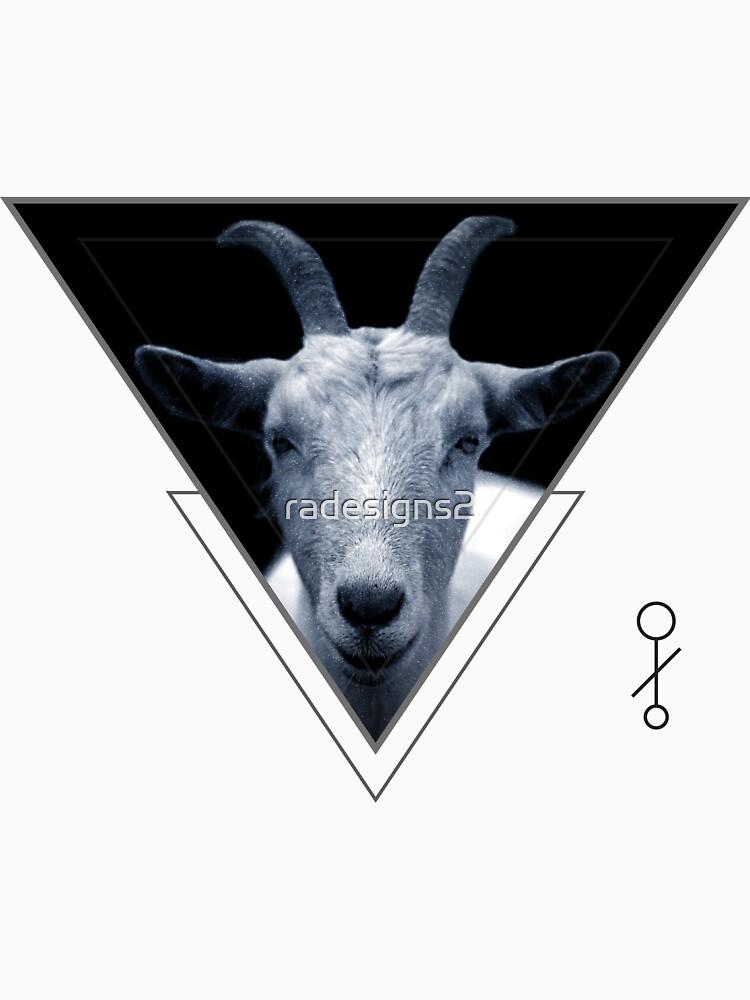 Triangle Goat Sigil by radesigns2