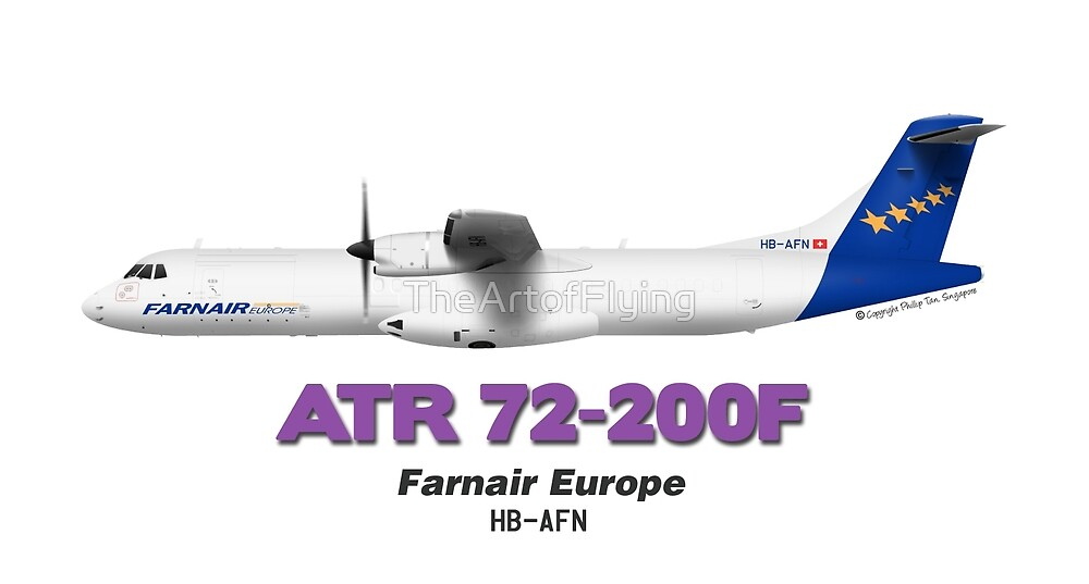 ATR 72-200F - Farnair Europe by TheArtofFlying