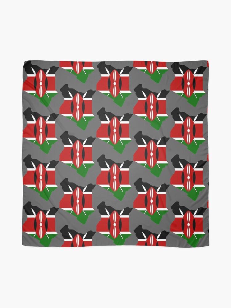 Alternate view of Kenya Scarf