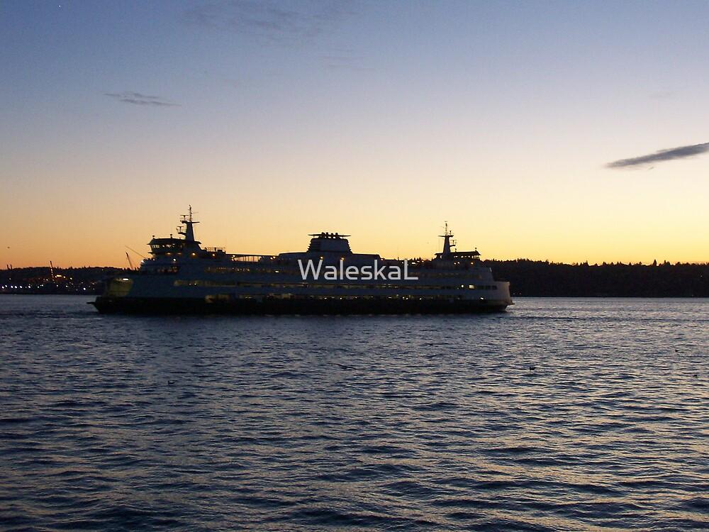 Sunset Loveboat by WaleskaL