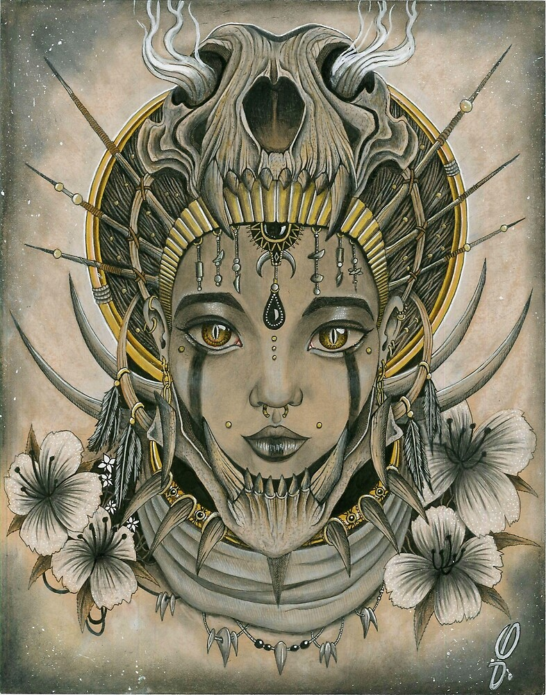 Queen of Sheba by Quentin-Blascot