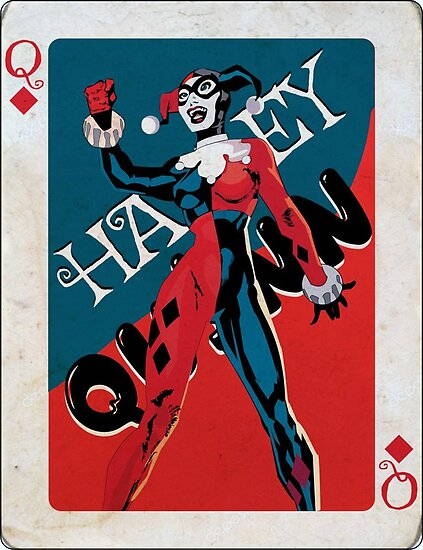Queen Of Diamonds Harley Quinn By Waqarqamri
