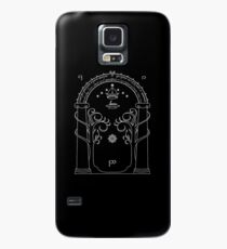 Lord of the Rings - Gates of Moria Ithilden Door Case/Skin for Samsung Galaxy