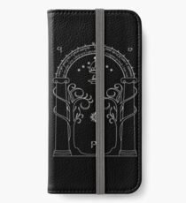 Lord of the Rings - Gates of Moria Ithilden Door iPhone Wallet/Case/Skin