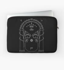 Lord of the Rings - Gates of Moria Ithilden Door Laptop Sleeve