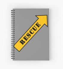 FIGHTER RESCUE Spiral Notebook