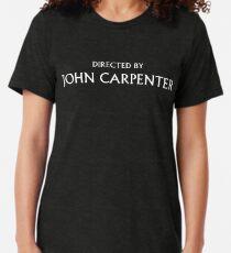 Directed by John Carpenter Tri-blend T-Shirt
