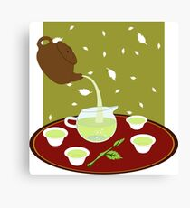 Tea Tools Canvas Print