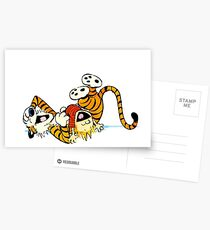Calvin and Hobbes - Laughing Postcards