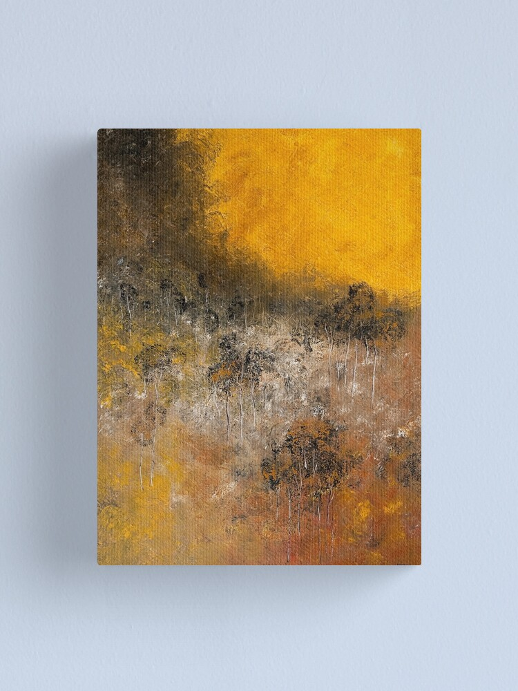 Alternate view of FIRE TRAIL Canvas Print