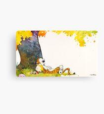 Calvin and Summer - Summer Vacation Canvas Print
