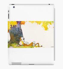 Calvin and Summer - Summer Vacation iPad Case/Skin