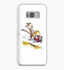 Calvin and Hobbes - Wagon Samsung Galaxy Case/Skin