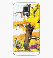 Calvin and Hobbes - Outdoor Compilation Case/Skin for Samsung Galaxy