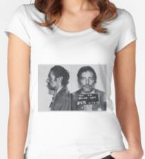 Dennis Hopper Mug Horizontal Women's Fitted Scoop T-Shirt