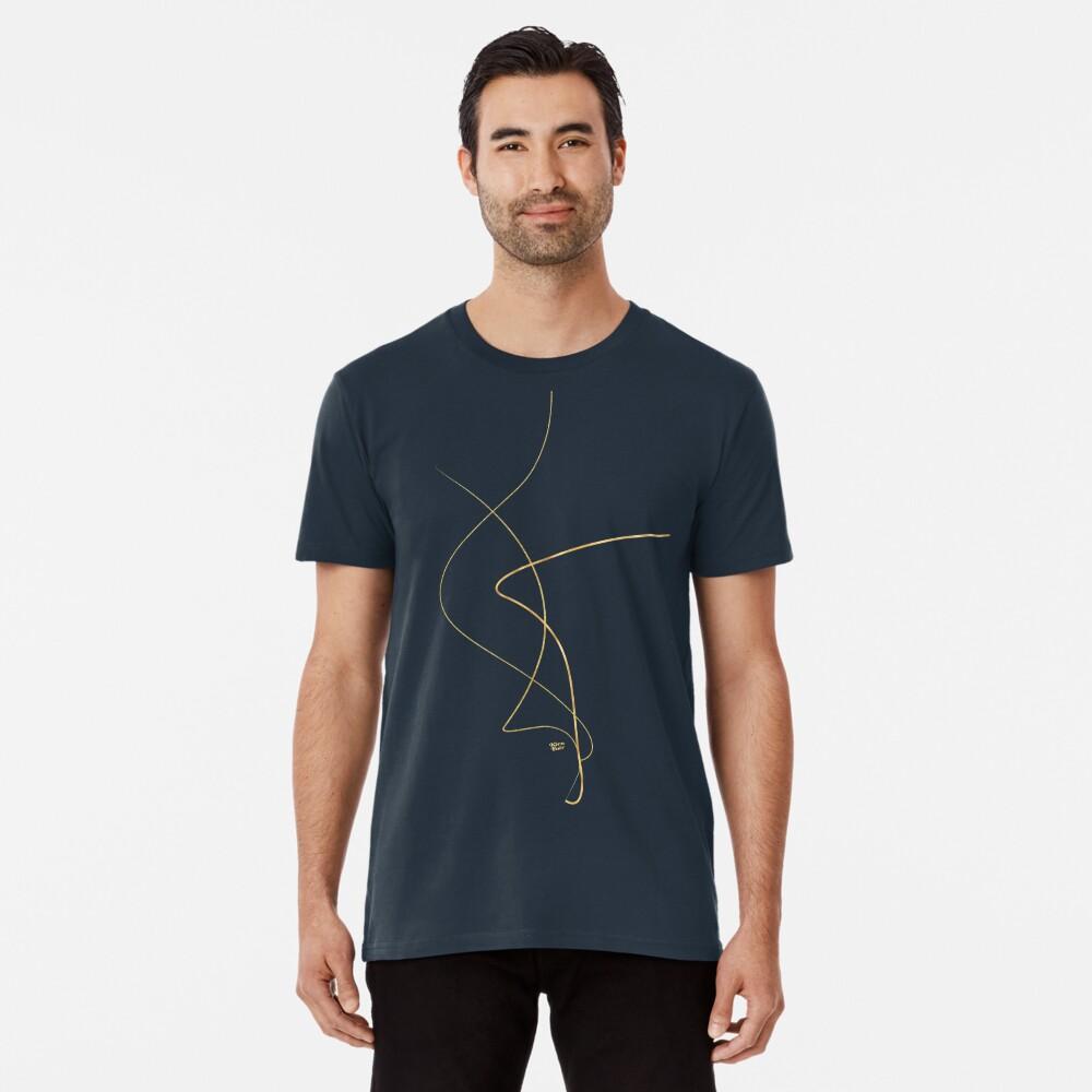 Kintsugi 2 #art #decor #buyart #japanese #gold #white #kirovair #design Camiseta premium