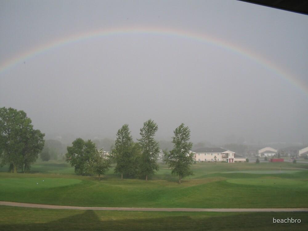 Rainbow on Hole 18 by beachbro