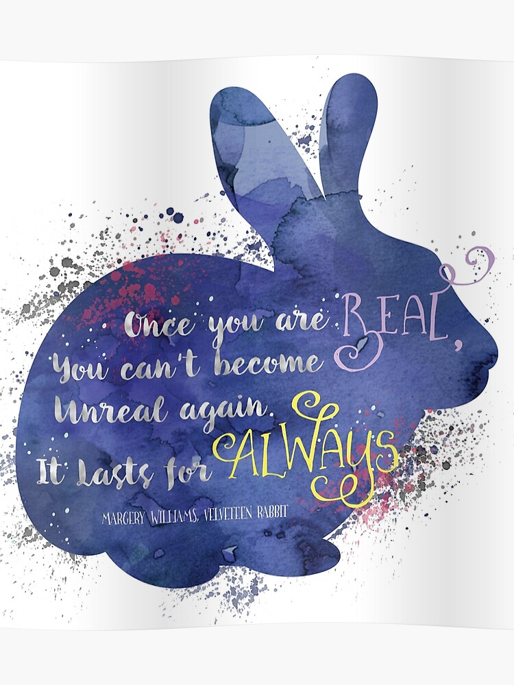 Velveteen Rabbit Quote | Poster