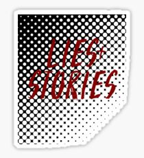 Lies + Stories Sticker