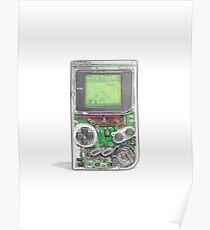 Game Boy Hi-Tech Transparent Poster