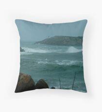 Atlantic Storm Throw Pillow