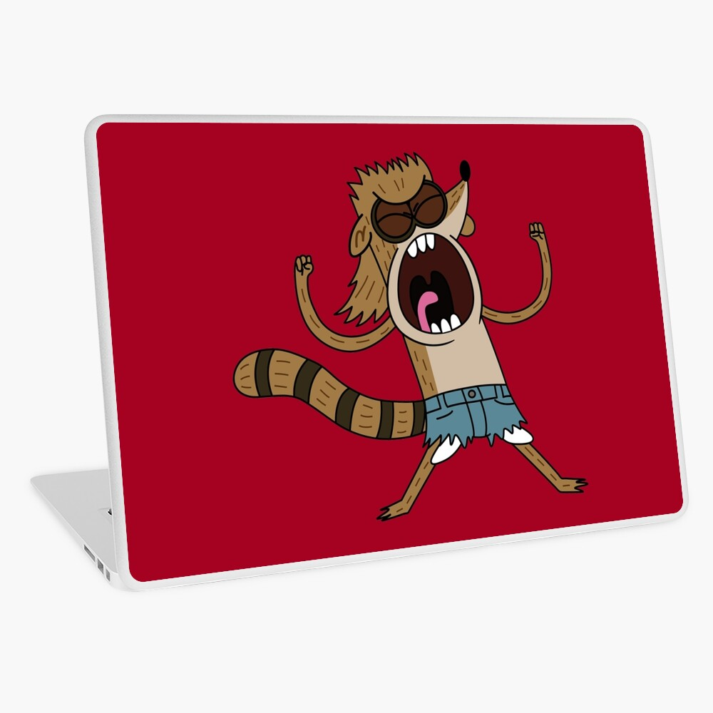 Rigby, The Death Kwon Do Freak Laptop Skin