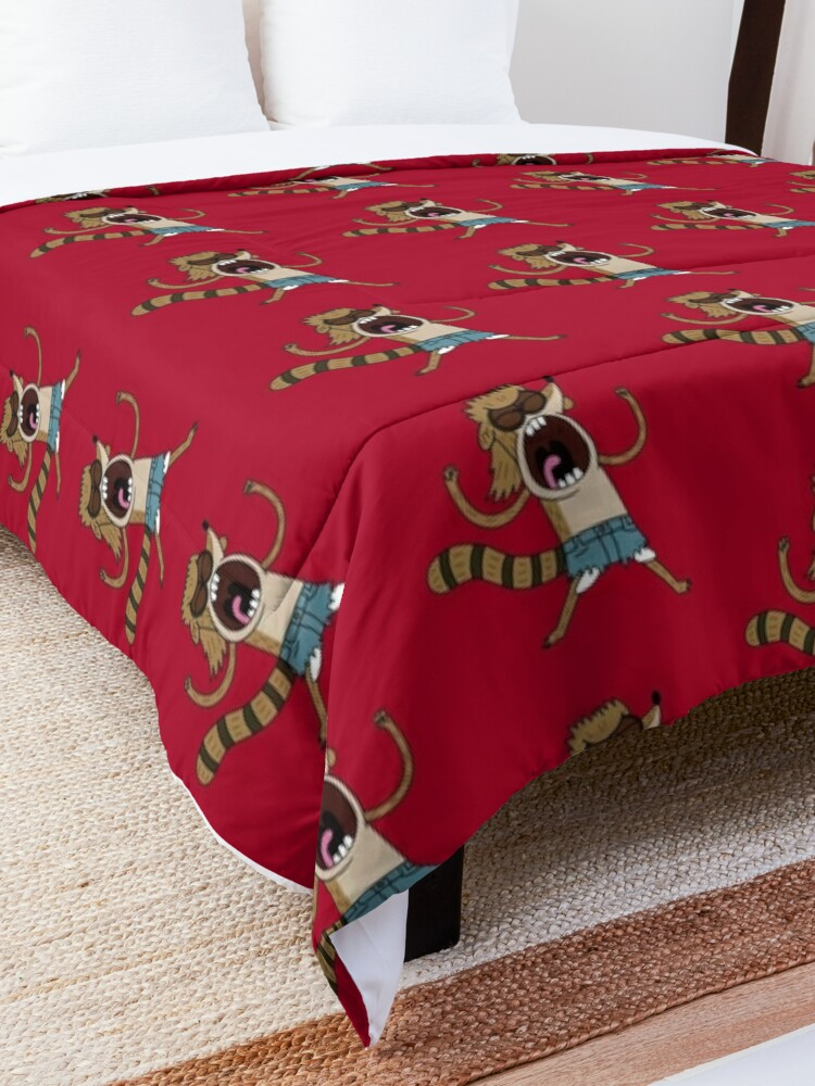 Alternate view of Rigby, The Death Kwon Do Freak Comforter