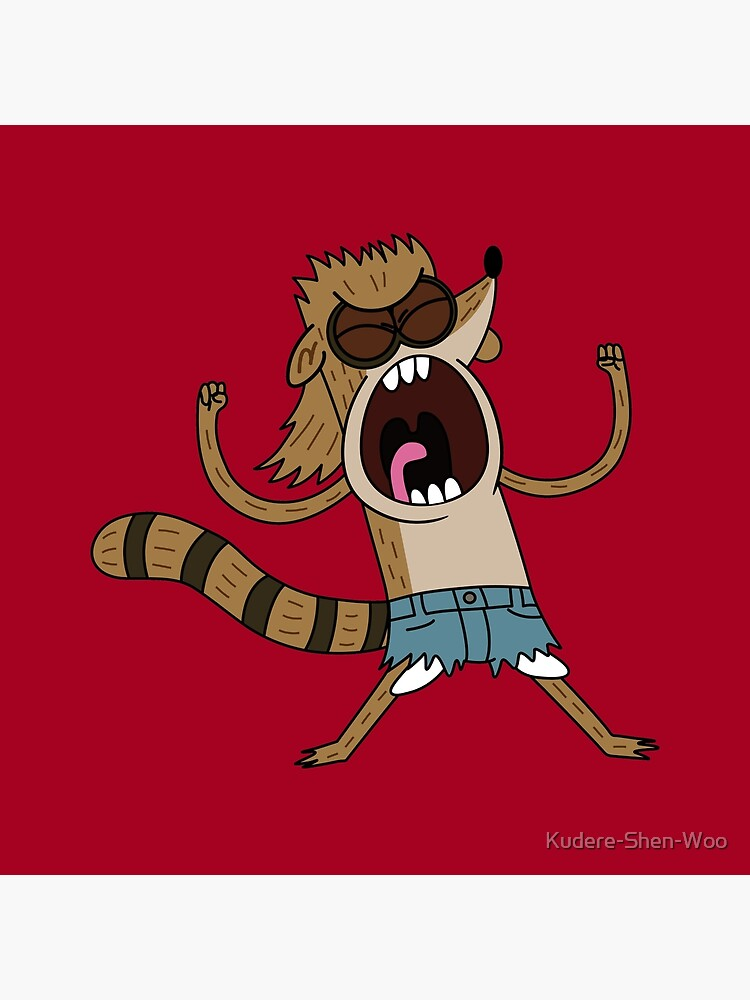 Rigby, The Death Kwon Do Freak by Kudere-Shen-Woo