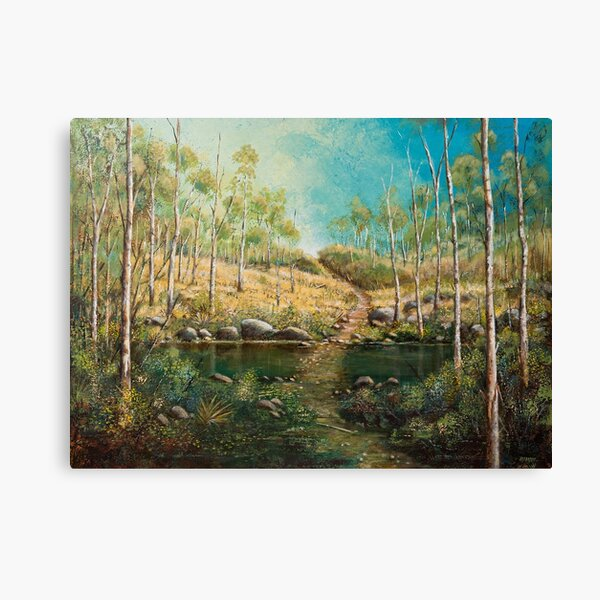 EAST COAST LANDSCAPE Canvas Print