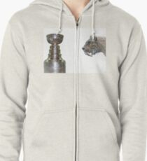 """""""The Hunt""""                        On the hunt for the Stanley Cup Zipped Hoodie"""