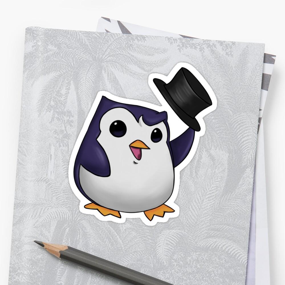 Penguin league of legends emotes par milalxser
