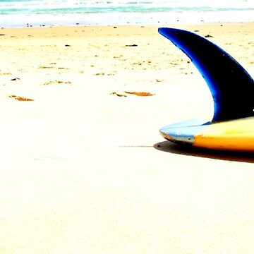 Blue Single Fin by markpiovesan