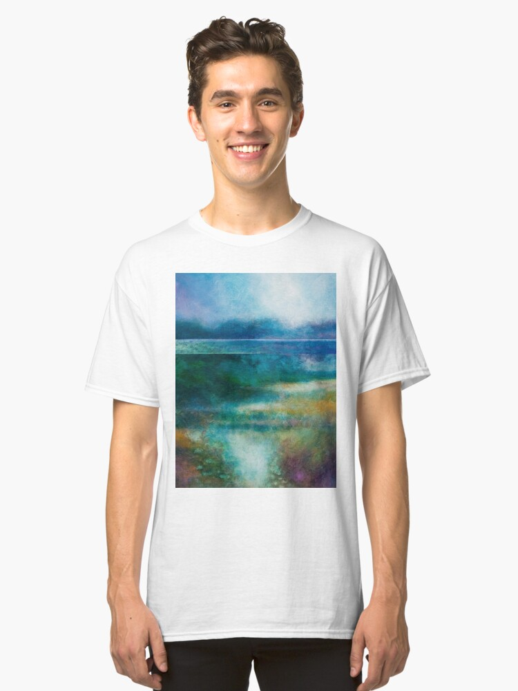 Alternate view of MISTY MORNING, GREAT LAKE Classic T-Shirt