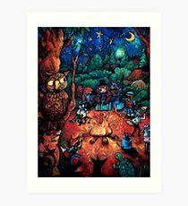 """Deep Woods Jam"" by Chad Elliott Art Print"