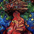 """Treehouse"" by Chad Elliott by Wildermans"