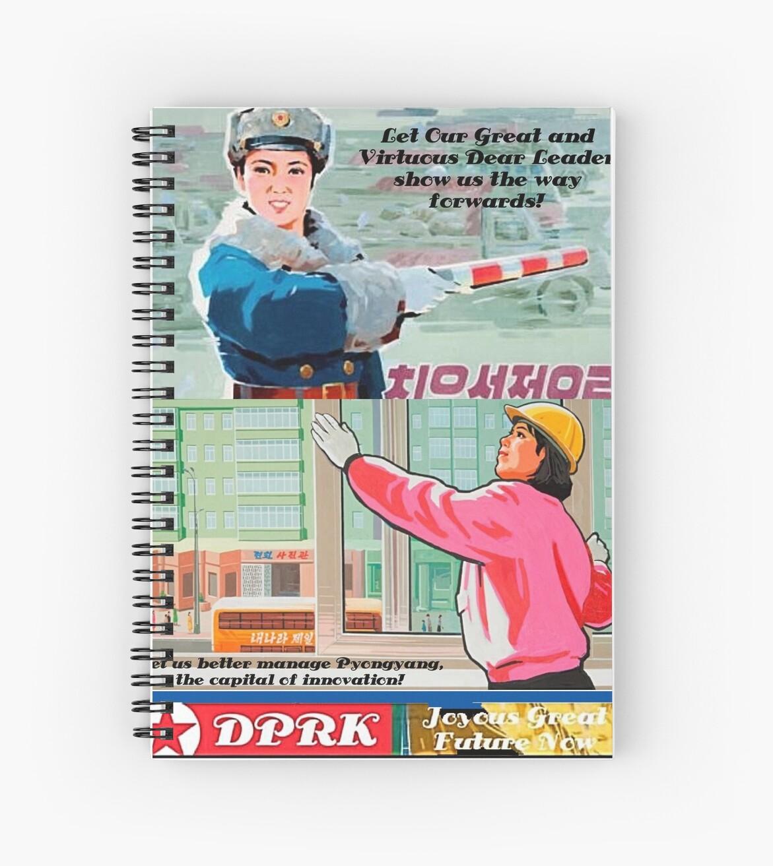 Nordkoreanische Parodie-Propaganda Mk3 von Artyteeslondon