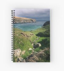 The Silver Strand Spiral Notebook