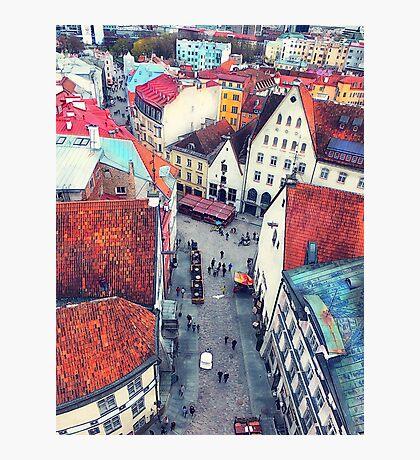 Tallinn art 6 #tallinn #city  Photographic Print