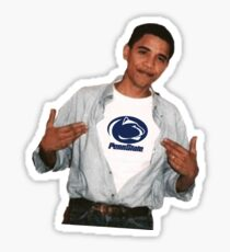 Barack Obama Penn State University Sticker