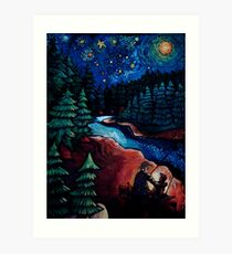 """Fishing Trips"" by Chad Elliott Art Print"