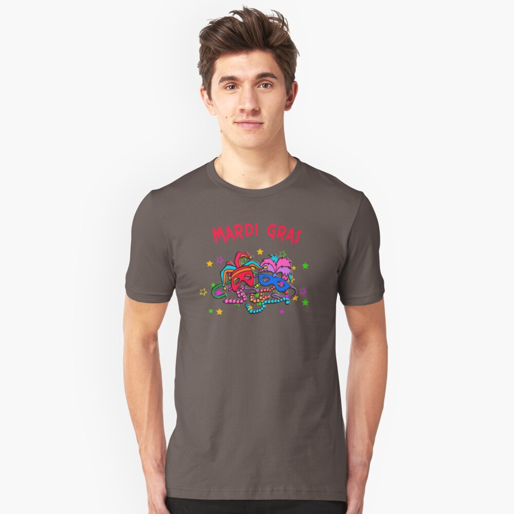 Mardi Gras GY298 Best Product Unisex T-Shirt Front