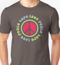 Peace Hope Love FX172 Best Trending Unisex T-Shirt