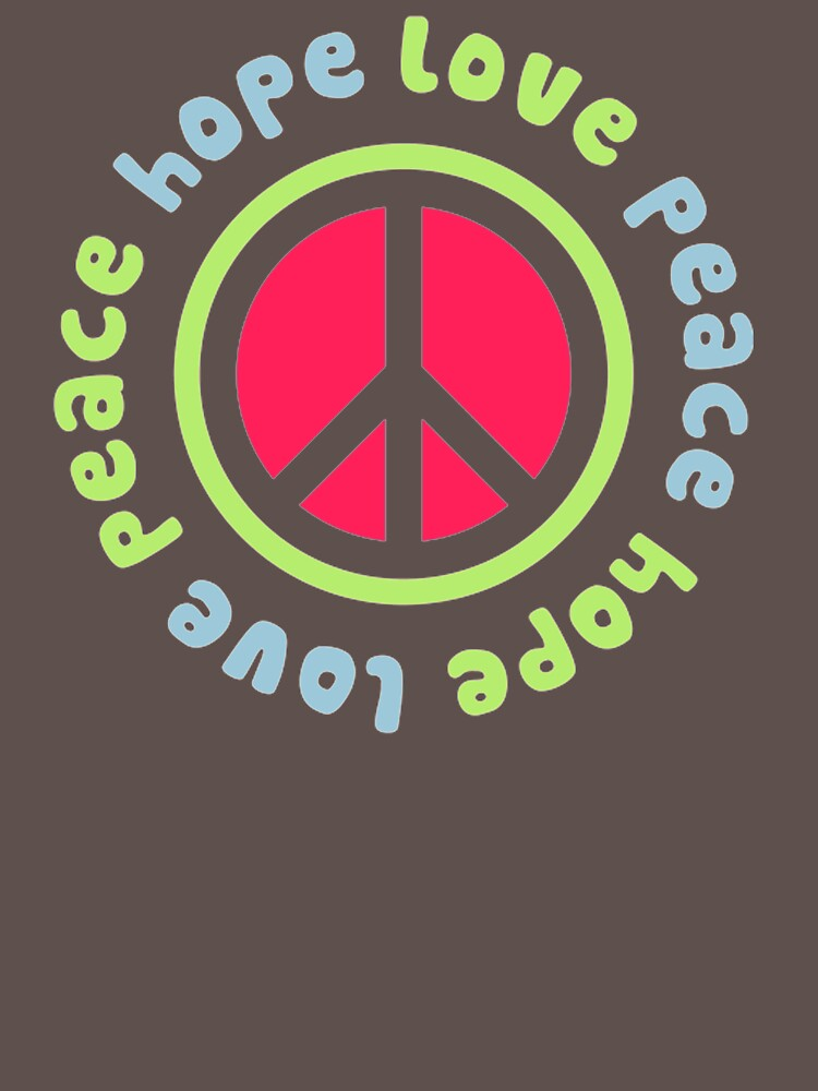 Peace Hope Love FX172 Best Trending by Diniansia