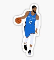 Paul George Sticker