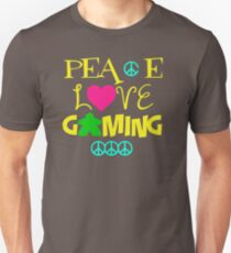 Peace Love Gaming CK671 New Product Unisex T-Shirt