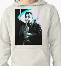 Charlie Parker by Tuticki Pullover Hoodie