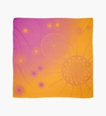 Elettra - Orange Yellow Fucsia Scarf